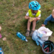 Výlet s dětmi do Poděbrad na kole za dva dny.